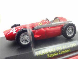 Ferrari-Collection-F1-555-1955-Eugenio-1-43-Scale-Box-Mini-Car-Display-Diecast