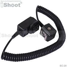 I-TTL Off-Camera Shoe Cord/Cable for Nikon SC-28/SC-29&Flash SB800/SB700/SB600