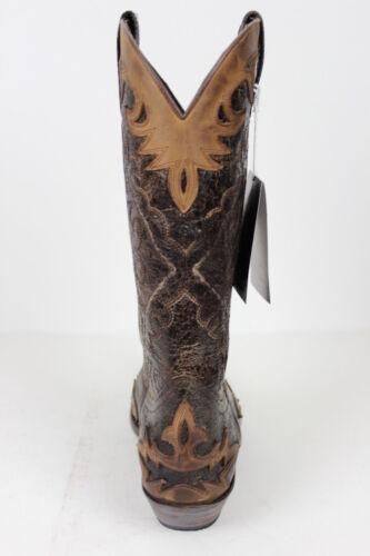 9669 Braun Westernstiefel Boot Sendra Cowboystiefel qPZ0xwv