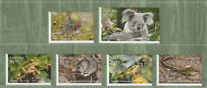Australia-2020-Wildlife-Recovery-Set-of-6-x-1-10-Decimal-Stamps-MNH