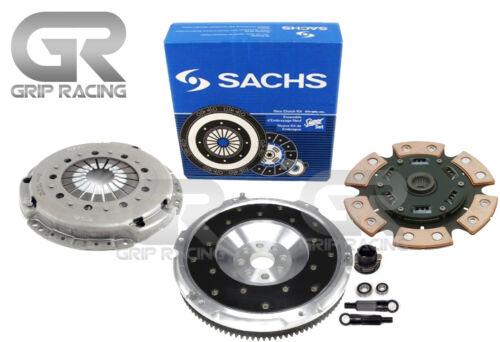 SACHS-GRIP STAGE 3 KIT+ALUMINUM FLYWHEEL For 95-99 BMW M3 E36 3.0L S50; 3.2L S52