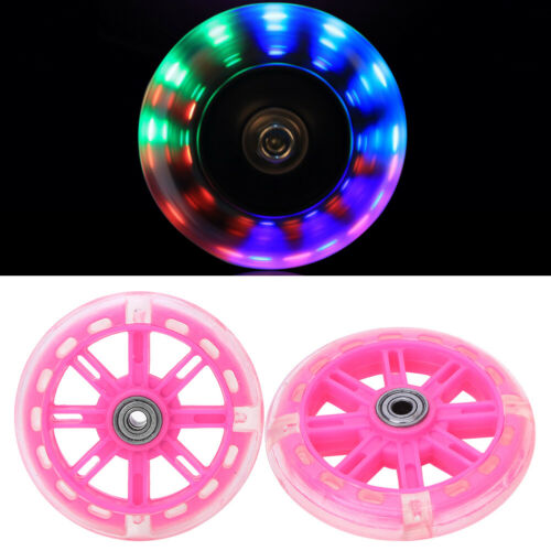 Children Bicycle Training Wheels for 12-20inch Bikes with Support Bracket Pink