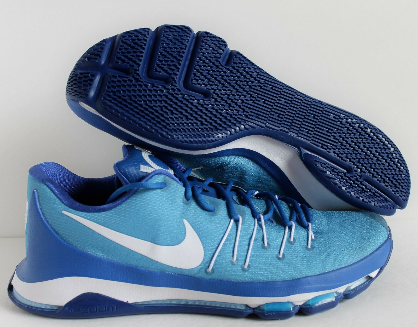Nike Hombre KD 8 blanco VIII Kevin Durant Azul- blanco 8 o (818303-901) a42183