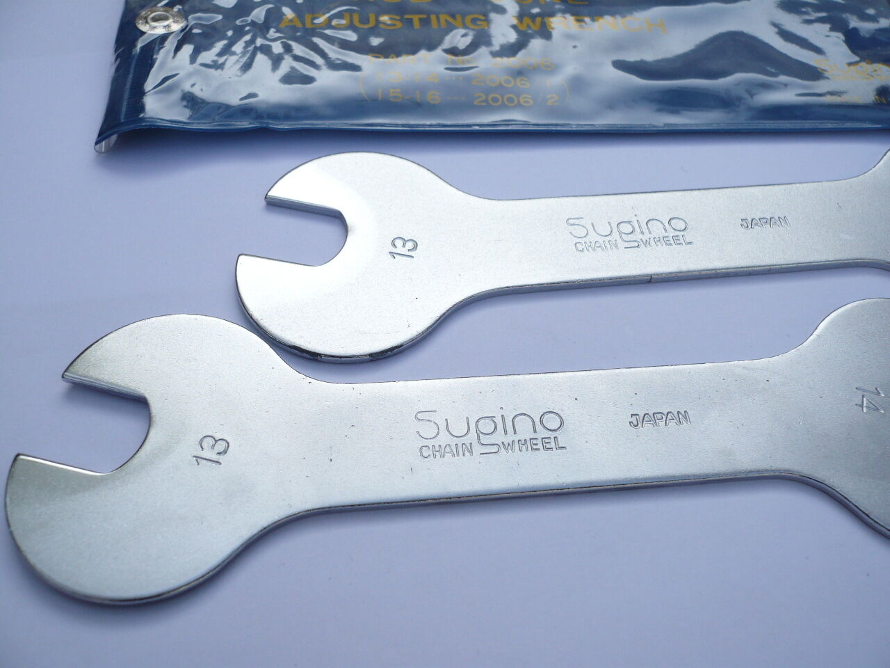 Vintage Sugino NJS Keirin Hub Cone Wrench 13 14mm 2  pieces 2006-1 No.011a ca  just buy it