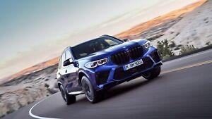 2020-BMW-X5-M-Competition-Auto-Car-Art-Silk-Wall-Poster-Print-24x36-034