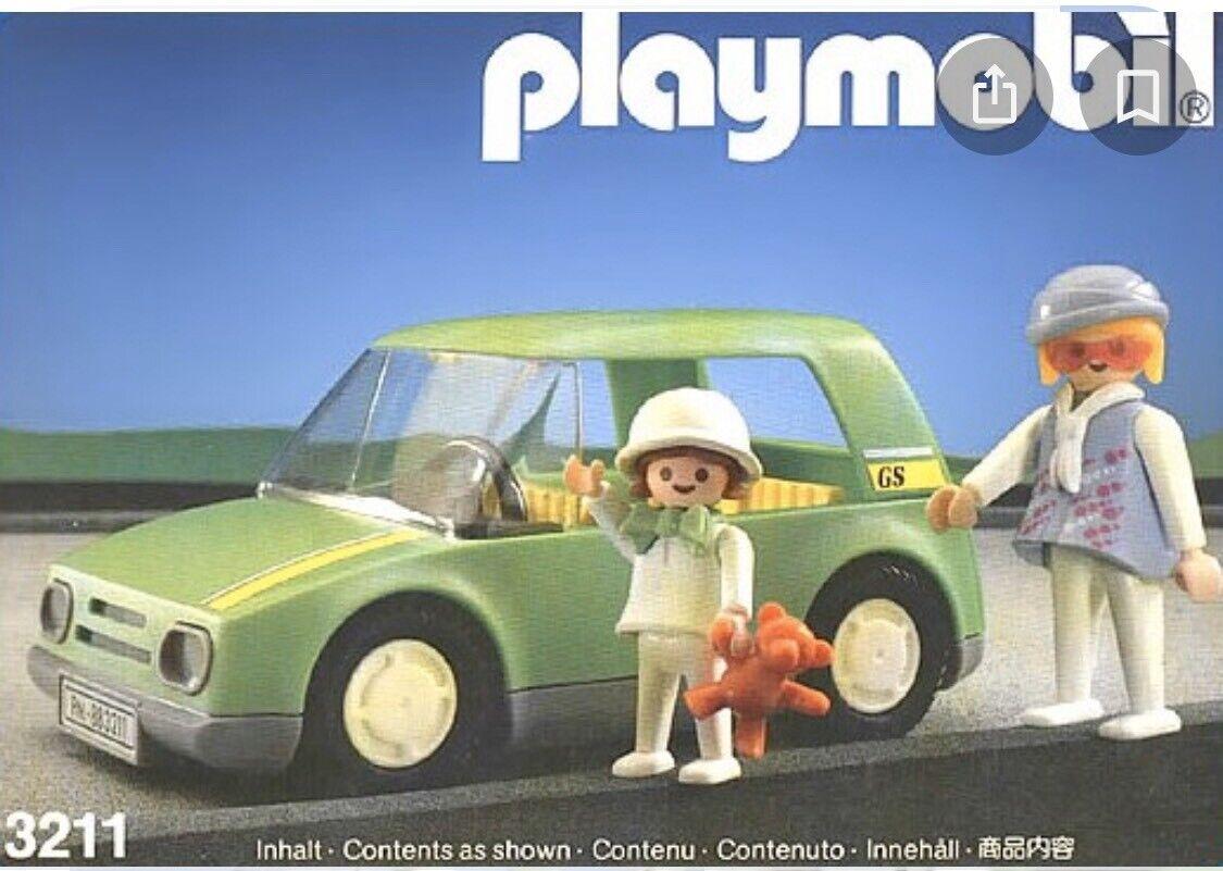 Playmobil 3211 City Car - Complete Set - Collector's Item