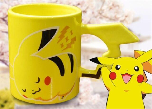 Pokemon Pikachu Ceramics Milk Water Tea Mug Cup Pocket Monster Birthday Gift New