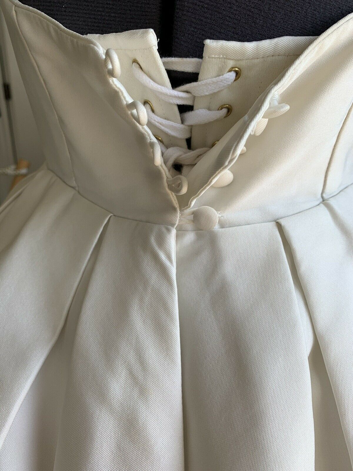 Caroline Castigliano Wedding Dress - SILK - below Knees Length