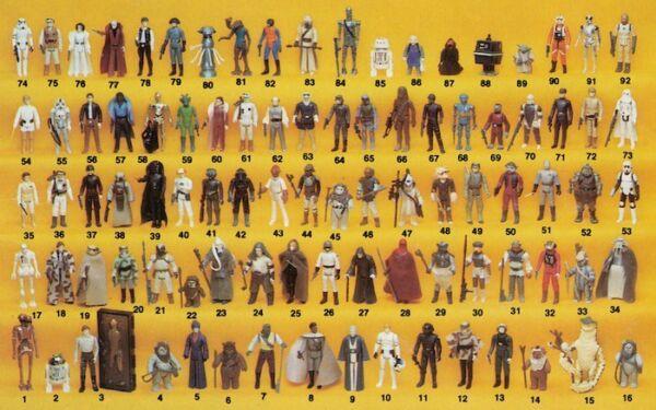 "** Scegliere Il Tuo ** Vintage Star Wars Rotj Esb Kenner 3.75"" Action Figure L @ @ K!"