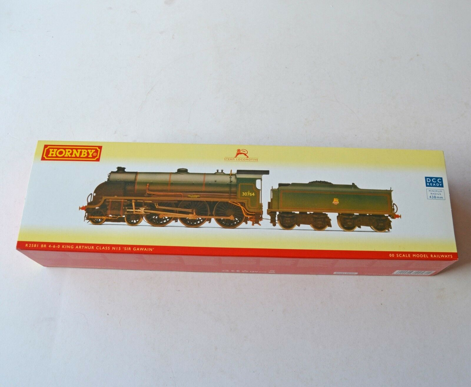 Hornby R 2581 BR Class N15 Steam Loco 30764 Sir Gawain Weatherojo DCC Ready New