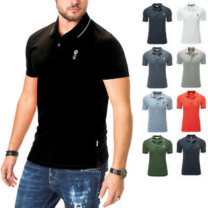 Jack-amp-Jones-senores-camiseta-polo-de-manga-corta-Camisa-Polo-Shirt-t-shirt-Business-color-nuevo