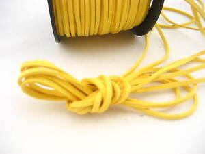 6meters Black Leather Cord soft Suede Lace velvet Thread DIY Bracelet findings