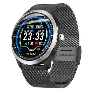 Bluetooth-ECG-Smart-Watch-Band-Heart-Rate-Monitor-Fitness-Tracker-Activity-Sport
