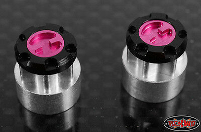 RC4WD Scale Aisin/Yota Style Hubs (2) (4mm wheel nuts) RC4Z-S0196