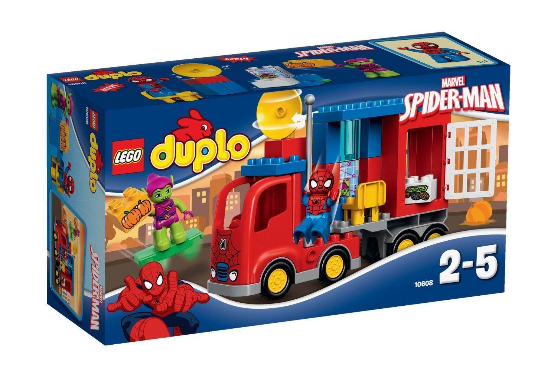 Lego 10608 - La Aventura Aventura Aventura en el Camión Araña de Spider-Man - NUEVO fc37f1