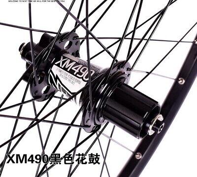 KOOZER Hub 32H MTB Bike disc brake Hubs Front 100*15 Rear 142*12mm Thru Axle bk