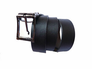 Genuine Leather Formal Reversible belt for Men - Black/Brown