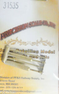 Precision Scale HO #31535 Valve Stem & Rocker Arm, Wabsh (Brass Castings)