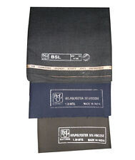 TROUSER FABRIC BSL MILL MADE FASHION SUITINGS. THREE PANT PC SET