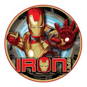 Iron Man Cake Topper Cake Decoration Edible Image
