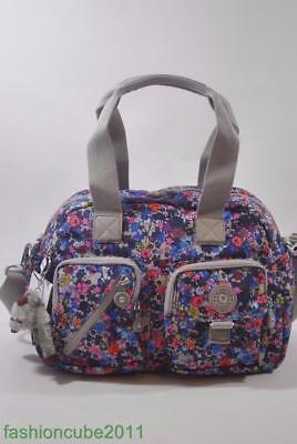New With Tag KIPLING Defea Shoulder Handbag HB3510 822 Summer Field