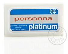 SUPER Platino personna acciaio inox doppio bordo (DE) LAMETTE LAME - 50