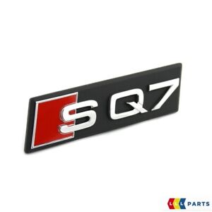 NEW-GENUINE-AUDI-Q7-SQ7-FRONT-BUMPER-GRILL-SQ7-LETTERING-BADGE-EMBLEM