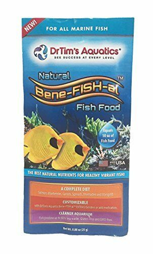 DR. TIM'S AQUATICS 022188 0.88 oz 1 Piece Bene-Fish-Al Fish Marine Single Food