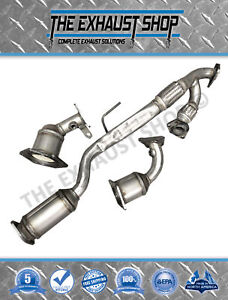 Fits Nissan Altima 3.5L ALL THREE Catalytic Converters 2002-2006 /& All Hardware