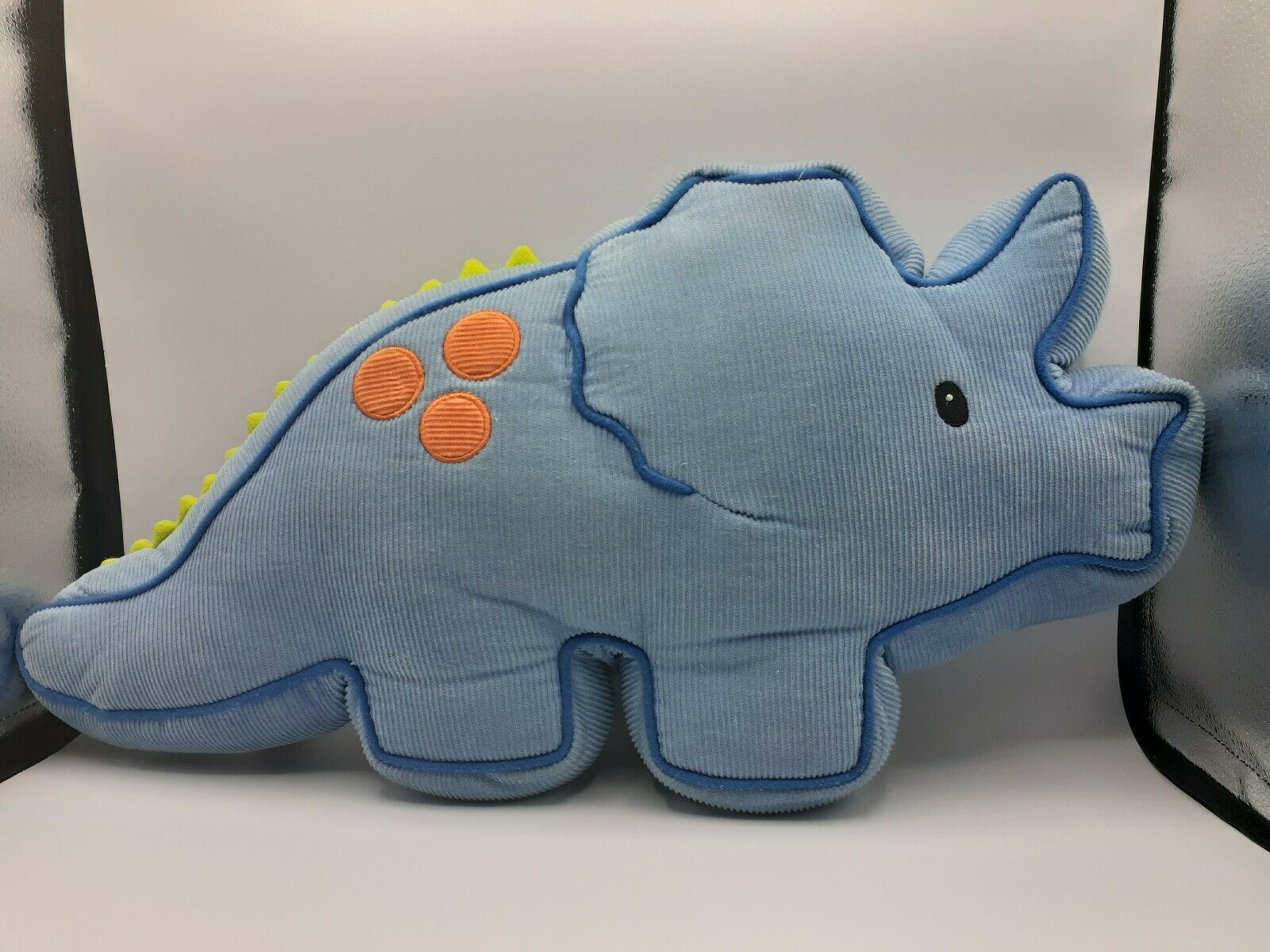 Gund Aaaah Dinosaurs Trevor Plush Pillow Corduroy Triceratops 20
