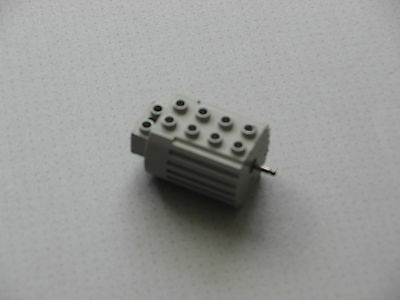 Lego Technic  Grey or Black non Electric Pull Back Motor Axles