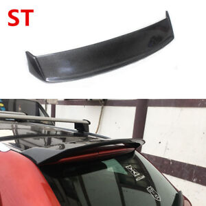For Audi A3 8p Hatchback 2006 2012 Roof Spoiler Wing Carbon Fiber Ebay