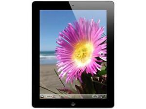 """Apple iPad 4 9.7"""" 1.40 GHz 1GB Memory 32GB Wi-Fi AT&T Bl"""