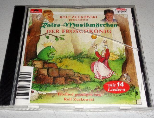 Rolf Zuckowski präs. - Der Froschkönig - Rales Musikmärchen CD 14 Liedern (587)
