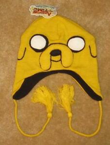 New-LICENSED-NWT-JAKE-The-Dog-Hat-Adventure-Time-Laplander-Winter-Ski-with-Finn