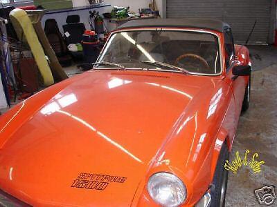 TRIUMPH SPITFIRE Cabrio Convertible ROOF copertura riferimento montaggio Istruzioni di montaggio