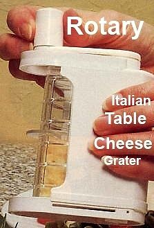 Italian New Rotary Cheese grater