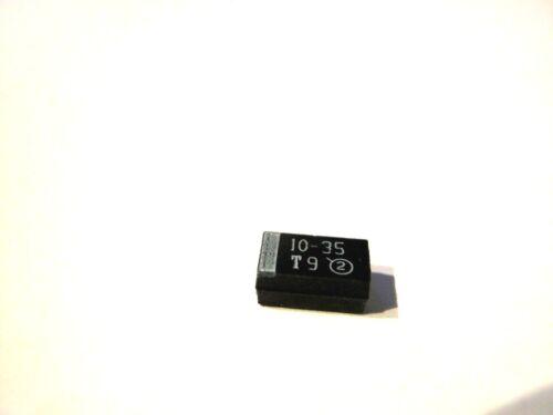 20/% Bauform= D 15 Stück SMD 10µF Tantal 293D106X0035D2W 35V VISHAY 10uF