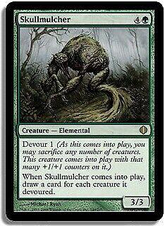 Skullmulcher Shards of Alara NM-M Green Rare MAGIC THE GATHERING CARD ABUGames