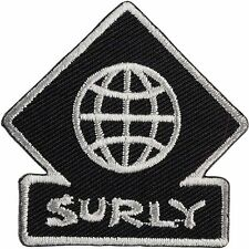 """Surly """"TOURING"""" Sew-on Embroidered Bicycle Patch"""