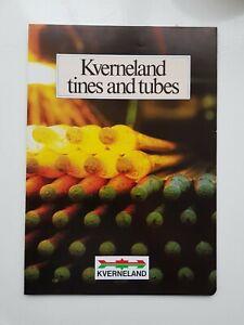 Charitable Kverneland Dents & Tubes Sales Brochure-afficher Le Titre D'origine