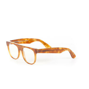 e1caa4f09587 Image is loading Retrosuperfuture-Flat-Top-Light-Havana-Optical-Glasses- Super-