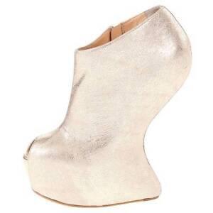 $995 Giuseppe Zanotti E37000 Womens Platform Bootie, Shoes 7.5US/38.5EU/5.5UK