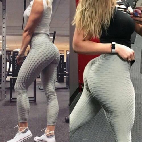 Women Anti-Cellulite Leggings Gym Fitness Yoga Pants Sportswear Push Up Trousers