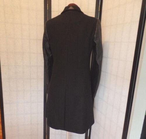 S S Sam Edelman noir mélange similicuir Nwot paillettes de manches laine s en Magnifique a7wUPra
