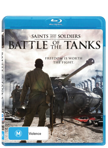 1 of 1 - Saints And Soldiers 3 - Battle Of The Tanks (Blu-ray, 2015) New/Sealed WAR