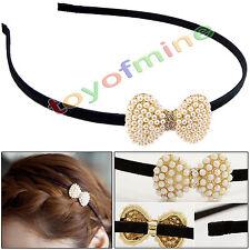 Banda de pelo de moda de Corea accesorios para el cabello de perlas preciosas