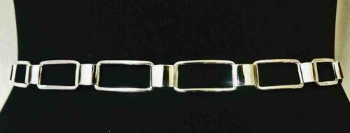Cool Chrome Silver Ladies Adjsutable Fashion Belt 26-41inch//70-105cm B1//Zx68