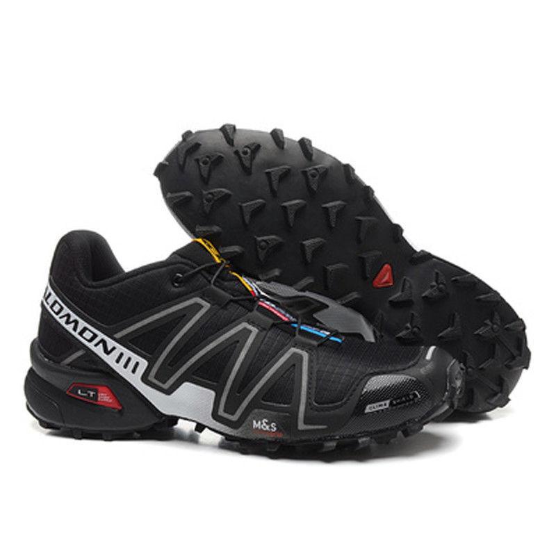 Black MEN  Speedcross 3 CS Cross-Country Running Outdoor shoes UK