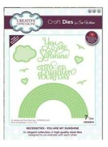 Rainbow-Metal-Die-Cut-You-are-My-Sunshine-Creative-Expressions-Cutting-Dies